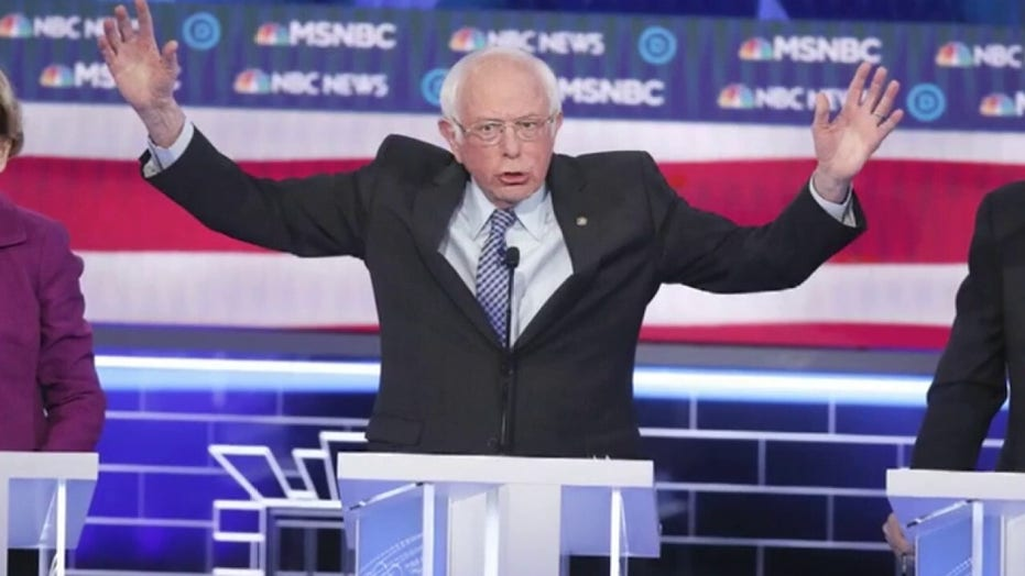 Sanders fends off slew of attacks from rivals on Nevada debate stage