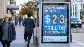 What are the national debt's biggest components?