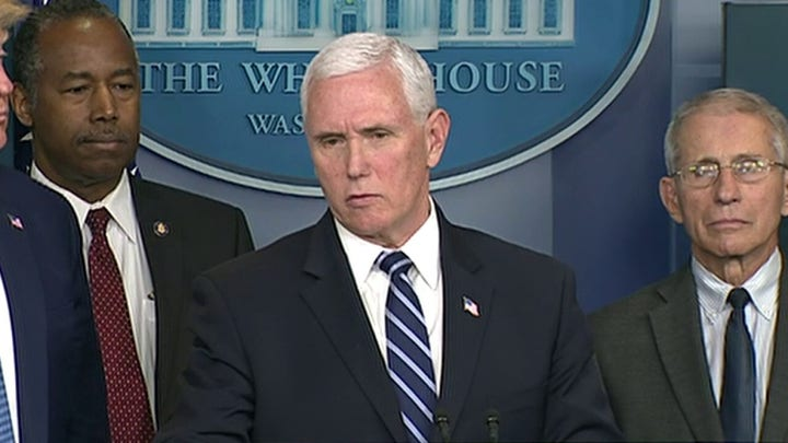 VP Pence: FDA approved one manufacturer that will produce millions of surgical masks