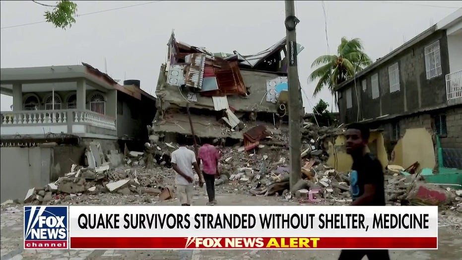 Haiti earthquake survivors stranded without shelter, medicine as death toll approaches 2,000