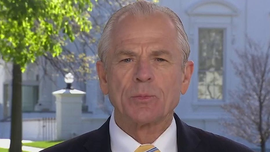 Navarro: China went from net exporter of protective equipment to net importer
