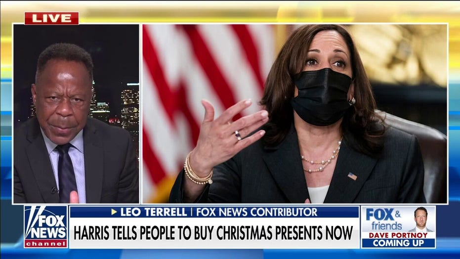 Leo Terrell alarmed by Kamala Harris telling Americans to start buying Christmas presents