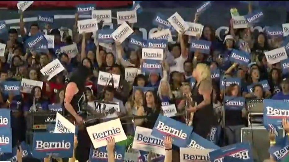 Joe Biden courts Bernie Sanders supporters