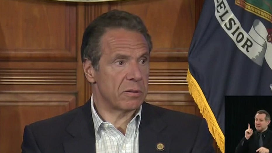 Cuomo facing growing criticism for coronavirus nursing home deaths