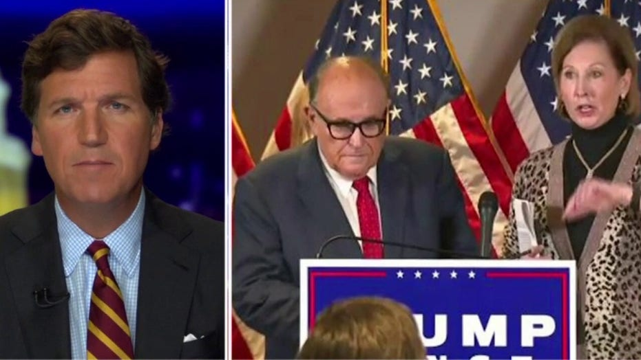 Rudy Giuliani: Sidney Powell not part of Trump's legal team