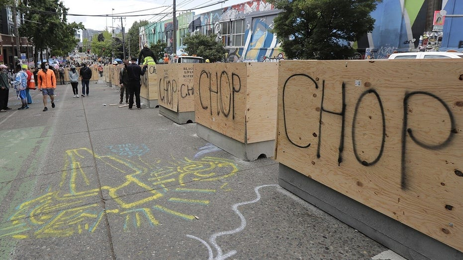 Seattle installs new concrete barriers in 'CHOP' zone after negotiations with protesters
