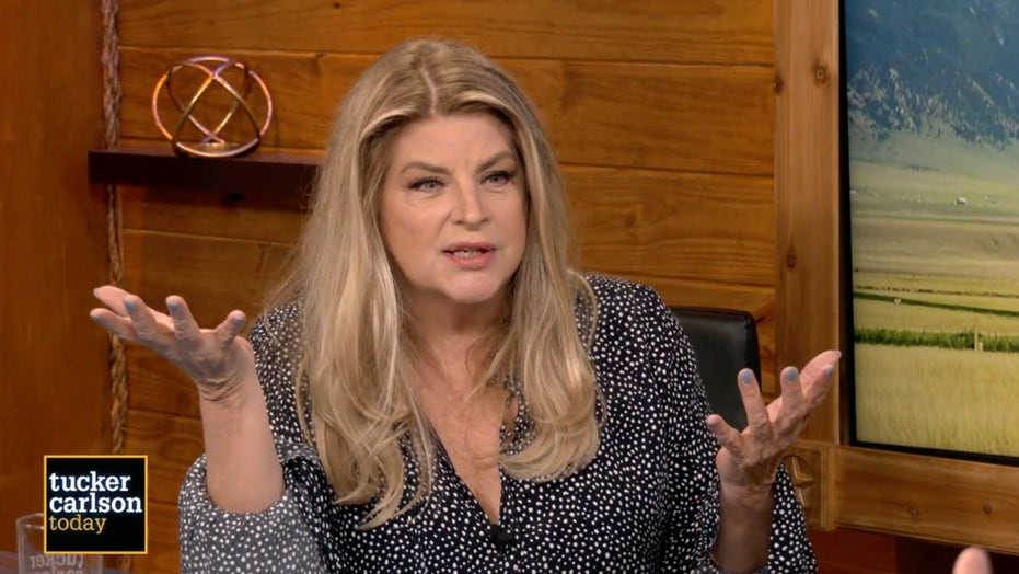 Kirstie Alley gets real with Tucker Carlson: Drug use 'destroys your spirit'