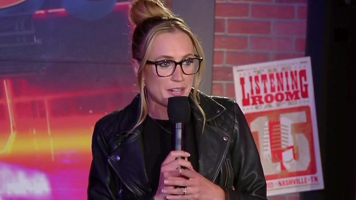 Kat Timpf gives stand-up comedic performance on 'Gutfeld!'