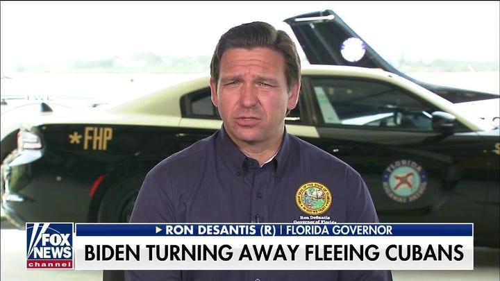Gov. DeSantis sounds off on Democrats' 'double standard' on immigration