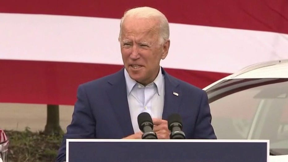 Joe Biden criticizes President Trump's handling of coronavirus
