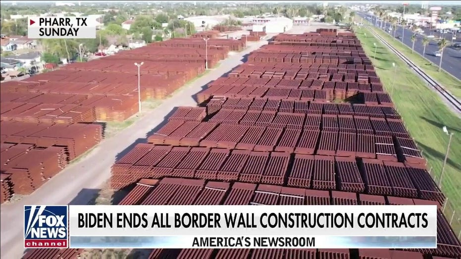 $100 Million in Border Wall Materials Rusting Away in Texas: Report [VIDEO]