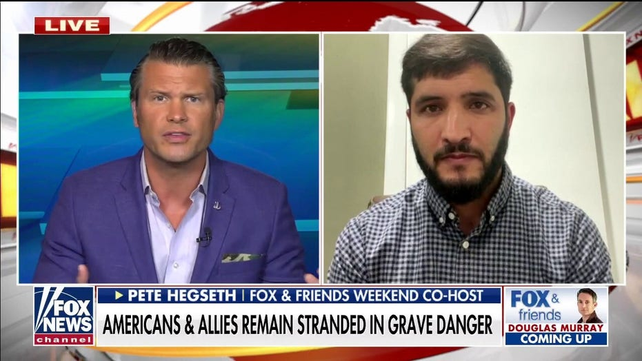 Translator who served with Pete Hegseth details efforts to get brother out of Afghanistan