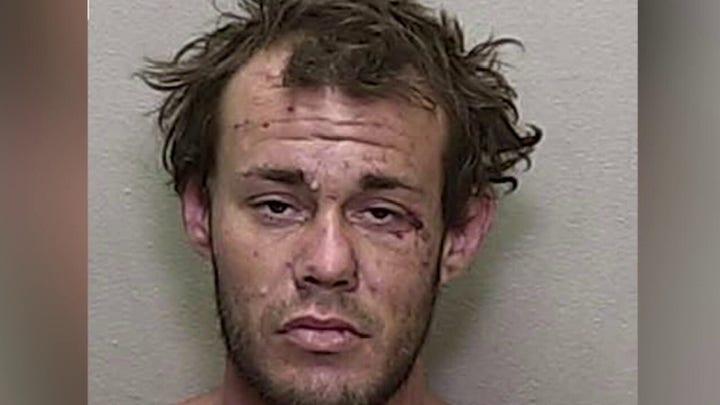 Florida fugitive pulls gun on deputy, chokes and bites K-9