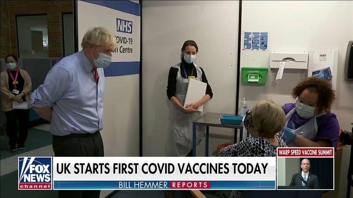 Britain starts first coronavirus vaccines