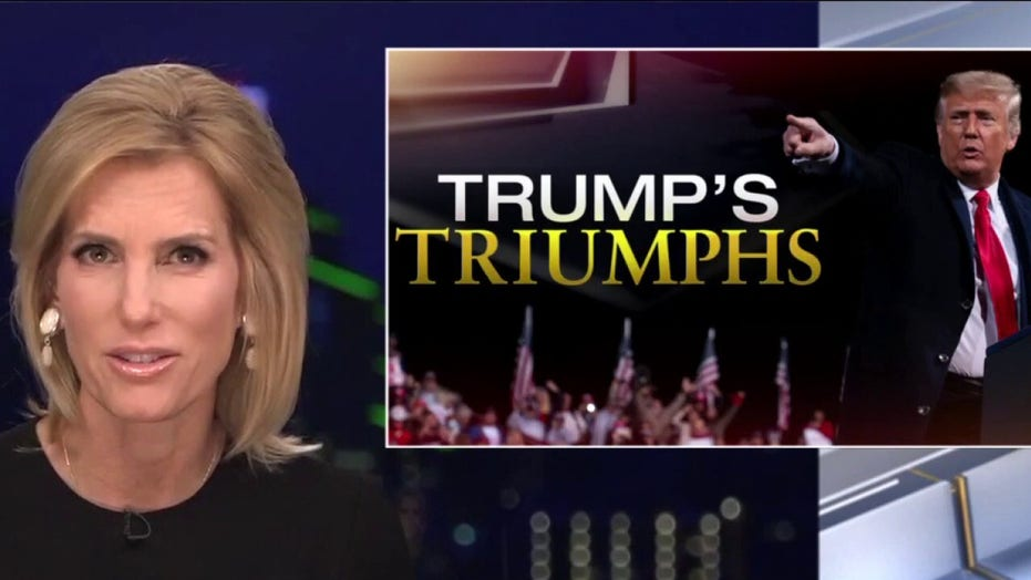Ingraham: As 2020 ends, reflect on 'Trump's triumphs' before Biden squanders them