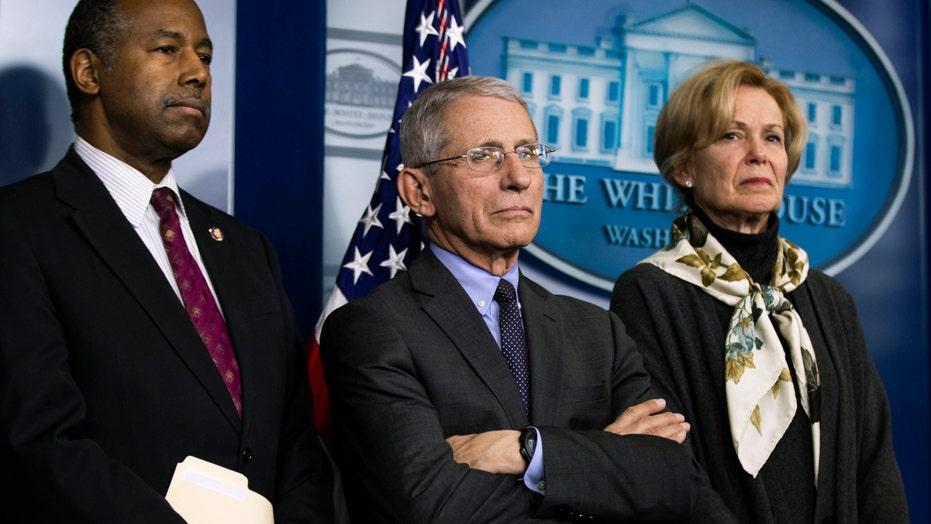 Coronavirus task force holds press briefing