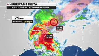 Hurricane Delta weakens to Category 1 storm