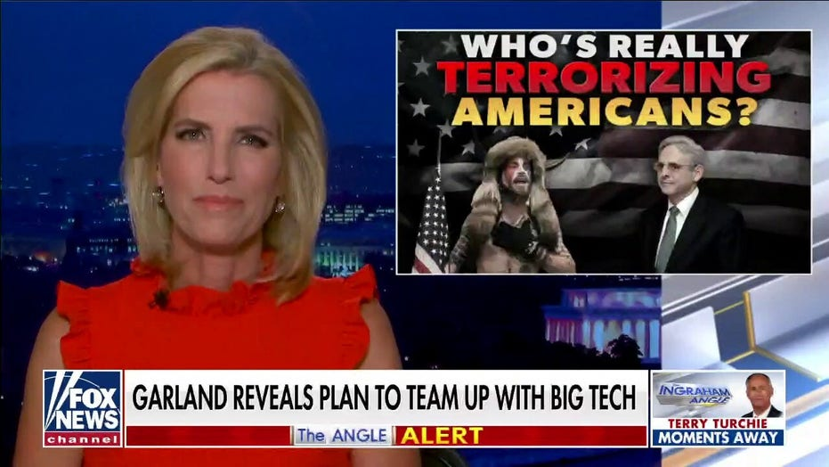 Ingraham exposes 'who's really terrorizing Americans', Biden administration efforts to 'frighten' voters