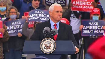 Pence reacts to Biden criticism of administration's COVID response