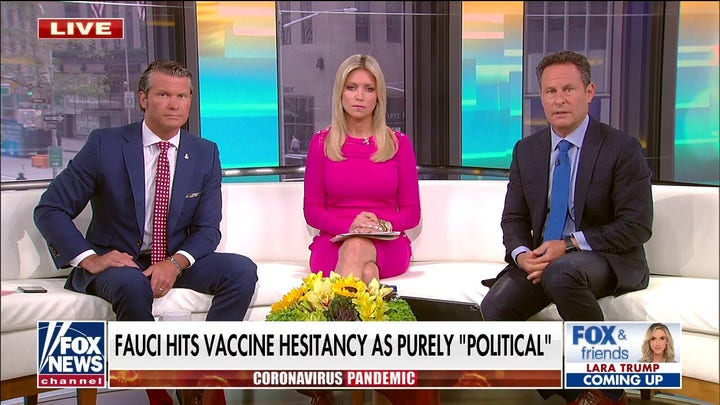 'Jakkals & Friends' slams Fauci for telling unvaccinated Americans to 'get over it'