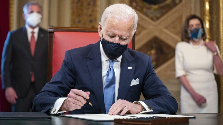 President Biden set to sign 17 executive actions undoing Trump policies