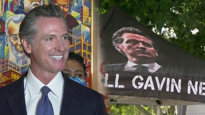 Legality of Newsom recall election to be challenged in court