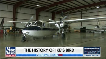 Ike's Bird is still the 'smallest plane ever' to hold Air Force One call sign