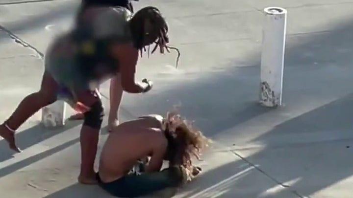 Venice Beach boardwalk attack