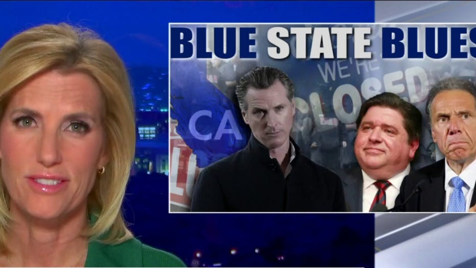 Ingraham: 'Blue State Blues' driving residents to red states