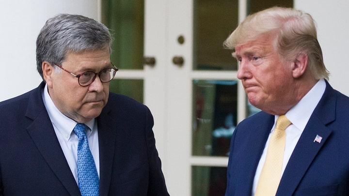 Barr says Trump tweets make it 'impossible' to run DOJ
