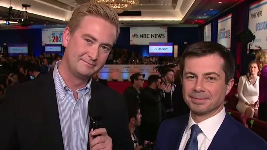 Buttigieg says Democrats are in trouble if Bloomberg, Sanders are the only choices