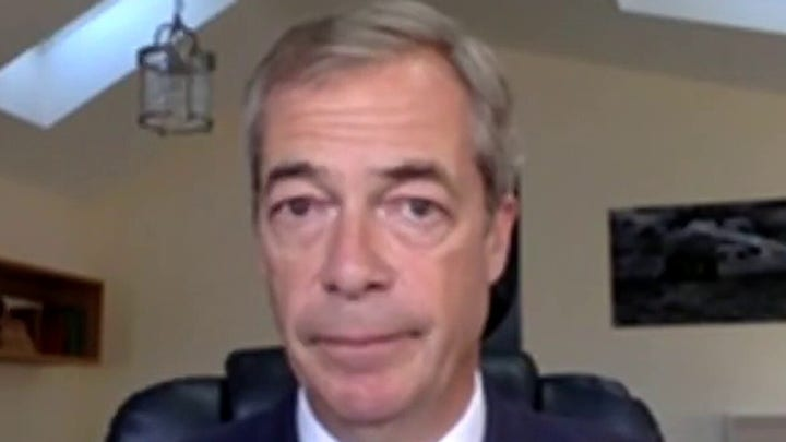 Nigel Farage on Afghanistan: Biden 'effectively' flying white flag to the Taliban
