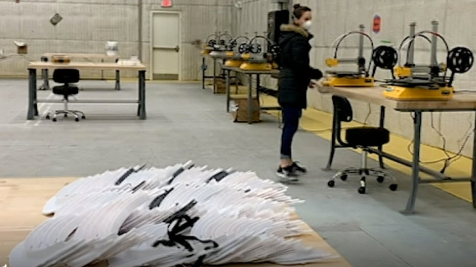 New York furniture manufacturer begins 3D printing face shields