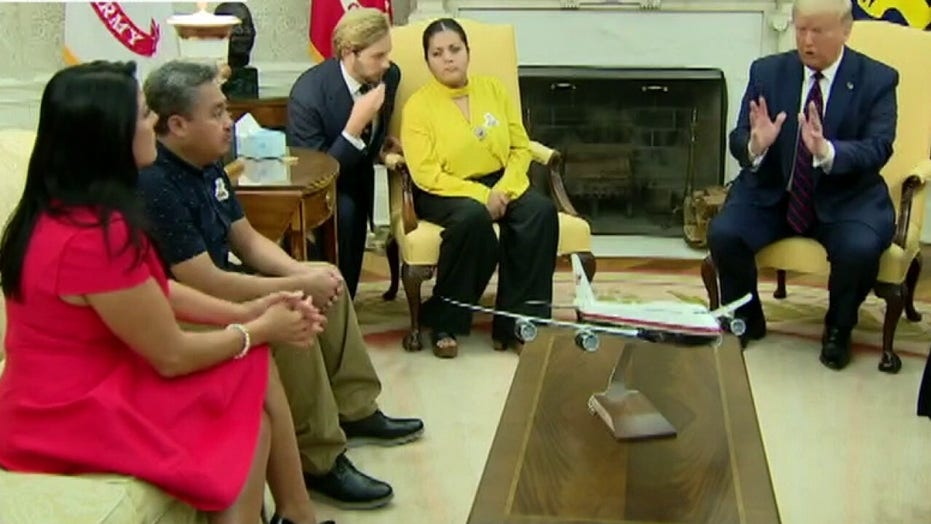 Family of Vanessa Guillen meet with Trump, march to support bill in her memory