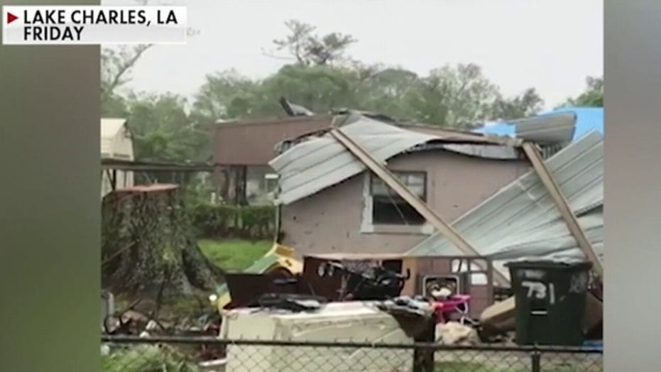 Hurricane Delta delivers Louisiana another blow as residents say they're 'numb' after latest storm