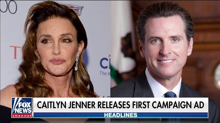 Caitlyn Jenner blasts California leadership in first campaign ad