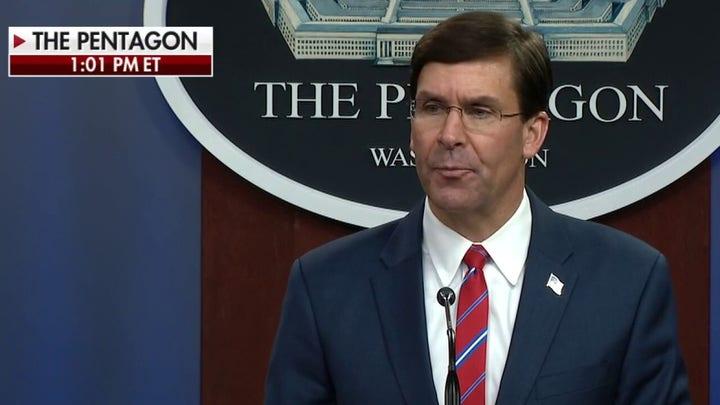 Defense Sec. Esper: U.S. military remains well prepared to defend the nation