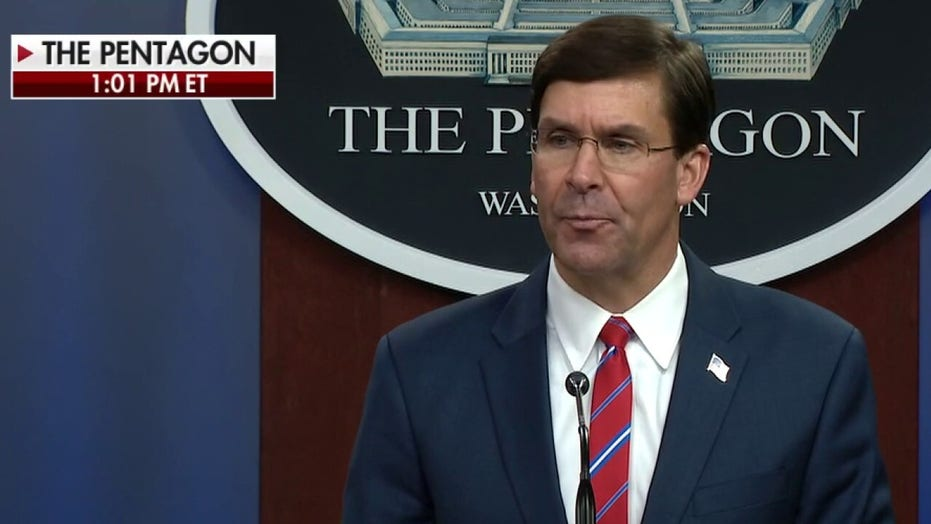 Defense Sec. Esper: U.S. military remains well prepared to defend the nation