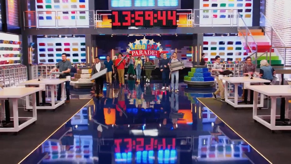 'Lego Master' artist explains his job creating building challenges for contestants