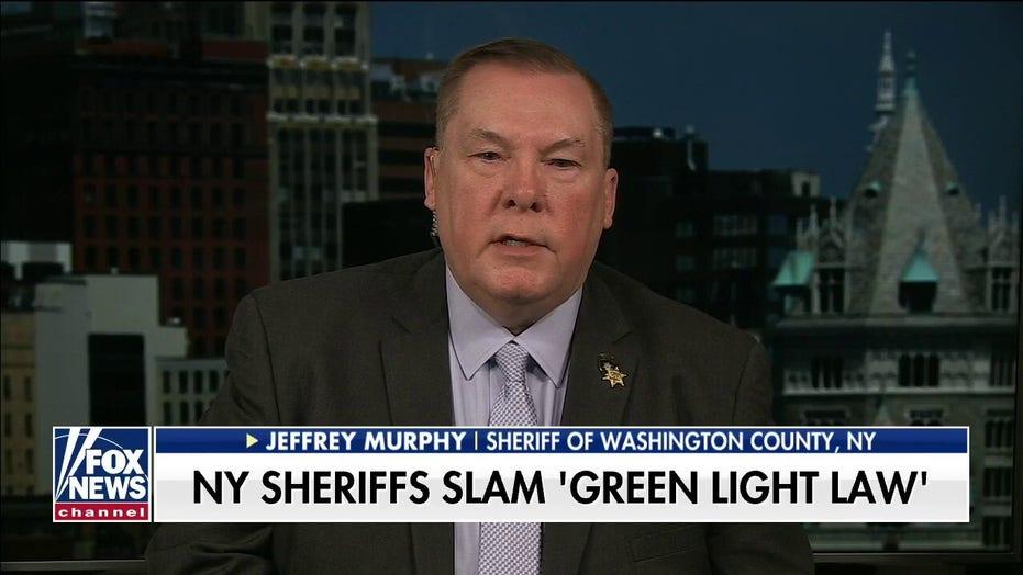 Sheriff Jeffrey Murphy slams NY's 'Green Light Law'