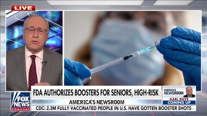 博士. Siegel: COVID booster shot will decrease risk of spread, severe illness