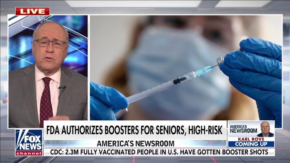 Dr. Siegel: COVID booster shot will decrease risk of spread, severe illness
