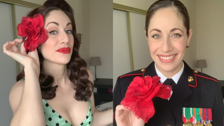 Female veterans give TikTok's Don't Rush Challenge a patriotic spin