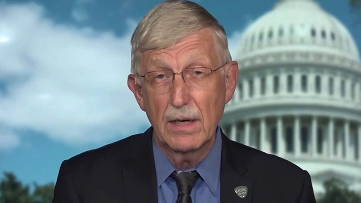 NIH director on vaccination push as businesses delay return-to-work plans