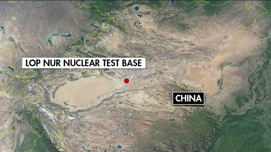 Possible Chinese nuclear testing site raises U.S. concern