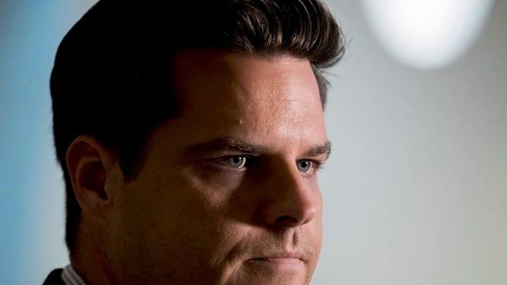 Matt Gaetz rejects calls for resignation amid sexual misconduct allegations