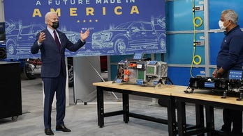 Biden calls for electric vehicles to make up half of auto sales by 2030
