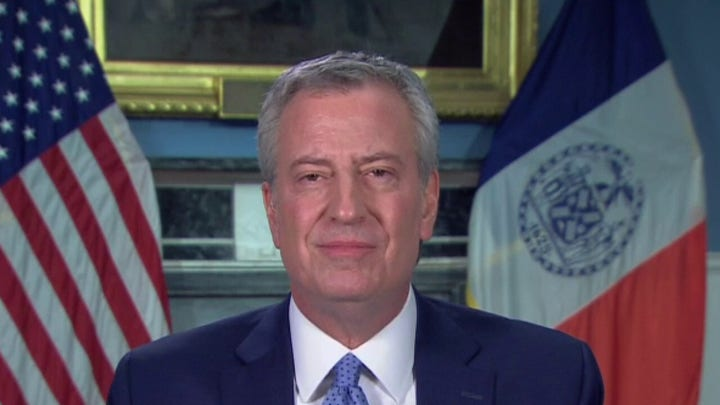 New York City Mayor Bill de Blasio on dramatic increase in COVID-19 cases in New York