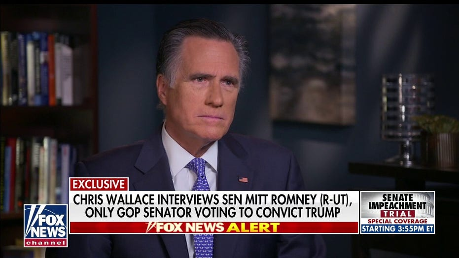 Mitt Romney: Trump's actions were 'grievously wrong' and he should be removed from office