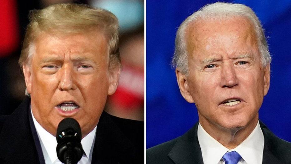 Trump, Biden battle for key swing-state voters